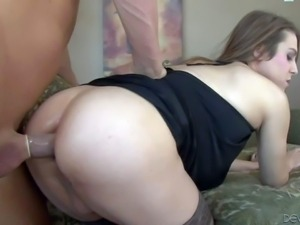 Jade Downing is a pale skinned cute transsexual girl that loves having sex...