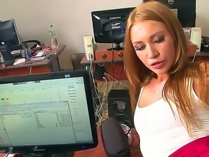 Beautiful, so sex appeal and so sinful blonde chick Lindsey Olsen has...