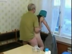 Hot 19 yo Teen screwing an old man!