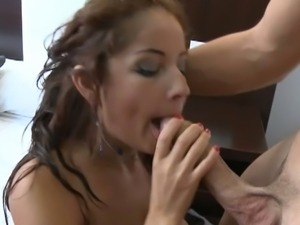 Nasty brunette susana alcal
