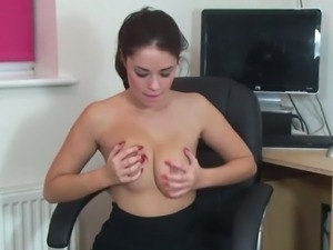 Suzie gets off at the office