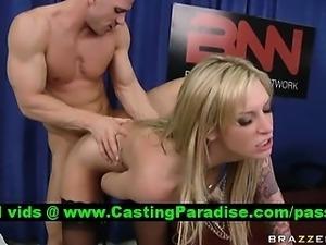 Brooke Banner busty blonde fucking hard