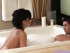 Asian Asa Akira getting interracially hardcored by hard cocked bang buddy