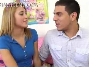 Teen Creampie Video
