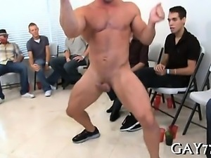 Young boy loves to engulf ramrod