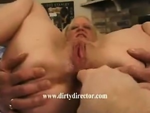 Hardcore mature amateur anal fingering extreme spreading