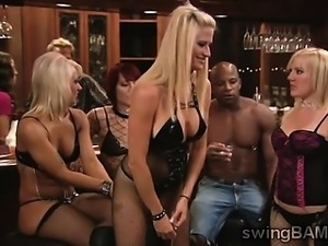 Naughty swingers party turns wild in this XXX reality
