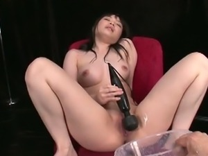 "Hina maeda in ""let's see how much she squirts""."