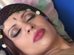 red lips indian whore @ white boys and indians #02