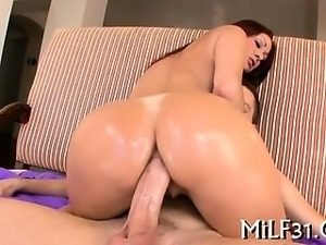 Slippery and wet blowjob