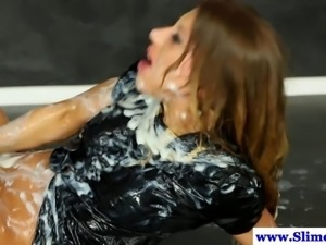 Cum hungry euro fucking at gloryhole