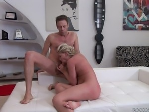 blonde gets her asshole gaped @ rocco's pov volume #32
