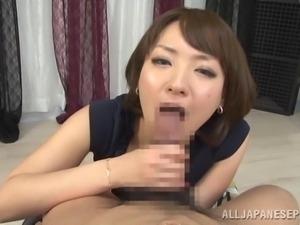 japanese lady acting like a whore