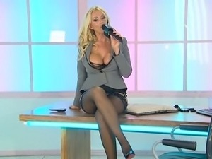 Lucy Zara sexy Office assistant