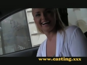 Casting- Russian anal beauty slides it in with pleasure free