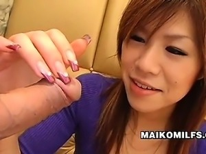 Yasuko Miyawaki - Stunning Japanese Wife Enjoys A Cock