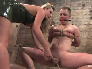 mistress knows how to use strings