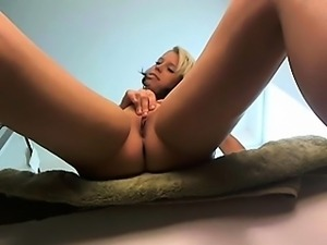 Blonde Teen Fingering Her Pussy On A Web Cam