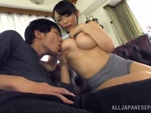 japanese slut strokes off her boyfriend