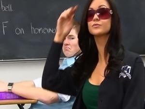 InnocentHigh Bigtits schoolgirl Kendall Karson fucked horny classmate