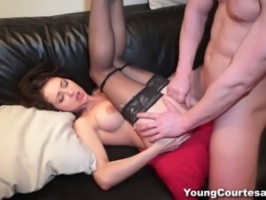 This young courtesan offers the best service ever. She sucks dick like a pro,...