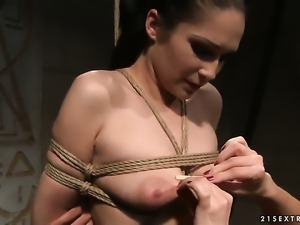 Mature Carrmen with gigantic breasts gets her soaking wet cunt eaten by...