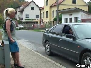 picking up granny