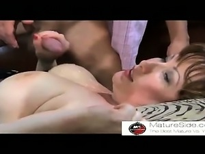 SuperMilf + Boy 18 From MatureSide