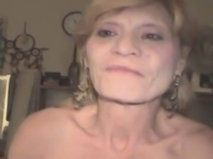 Dirty looking mature blonde crack whore straight from the streets sucking...