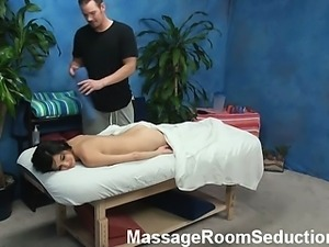 Zoey seduced and fucked by her massage therapist on hidden