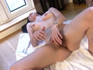Hairy woman Sadie Matthews is a hot blooded woman. She can't resist the cool...