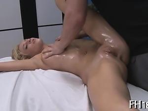 Hot babe gets fucked hard