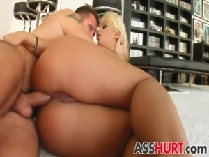 Defrancesca gets rough anal free