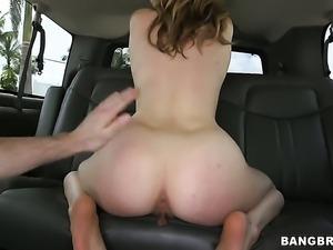 Karla Kush swallows dudes stiff dick