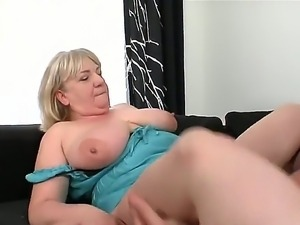 Tarzan fucking his friends granny - amazing fat Anabel with big boobs