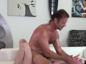 Babe fucked roughly by Rocco