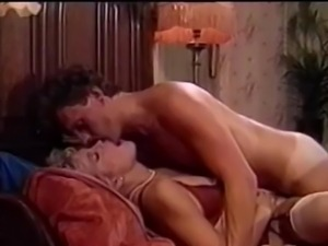 Retro cumming inside missionary position