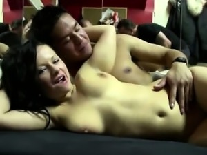Busty dutch whore rides cock