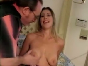 Ed Powers plays with Bree Brook's boobies