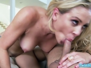 Blonde pro slut Cherie DeVille banged in this hd video