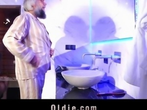 Hot treatment for the old dude