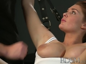 Beautiful Slave girls are Shackled before pleasing their Masters