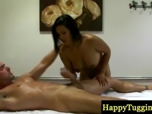 Massage were sexy asian with hot body gives happy ending