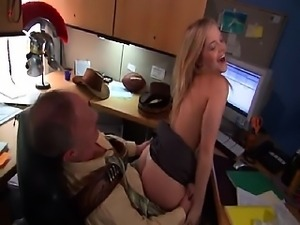 Alexis Texas topless with her skirt hiked up having hard
