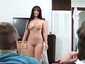 diabolically huge dildo of busty babes