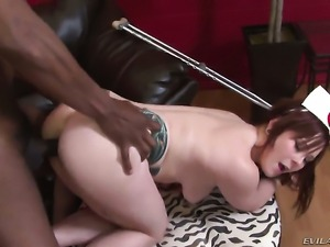 Sean Michaels gives attractive Misti Dawns love hole a try in steamy hardcore...