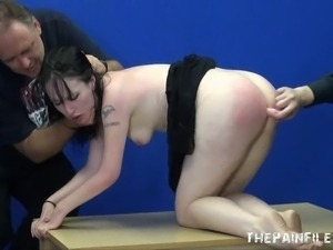 Extreme  blowjob and whipping of bdsm slut Faye Corbin in harsh sexual...