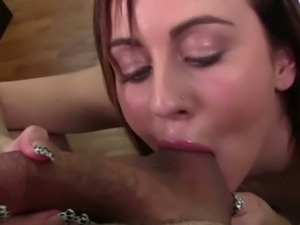 Mae Myers gives a spectacularly hot pov blowjob