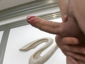 Shemale Getting A Good Cock Suck