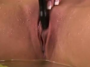 Piss fetish blonde wam babe drenched in own sweet urine